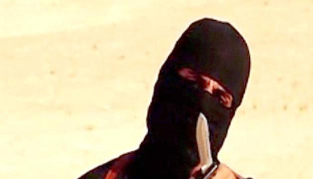 Imagen del denominado 'John el yihadista' en uno de los vídeos del EI.