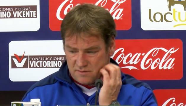 Jan Urban, tras la derrota ante el Lugo (0-2).