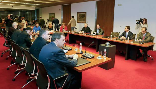 Reunión de la comisión de investigación sobre Caja Navarra este lunes