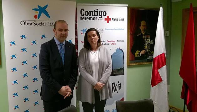 Joaquín Ignacio Mencos y Ana Díez Fontana