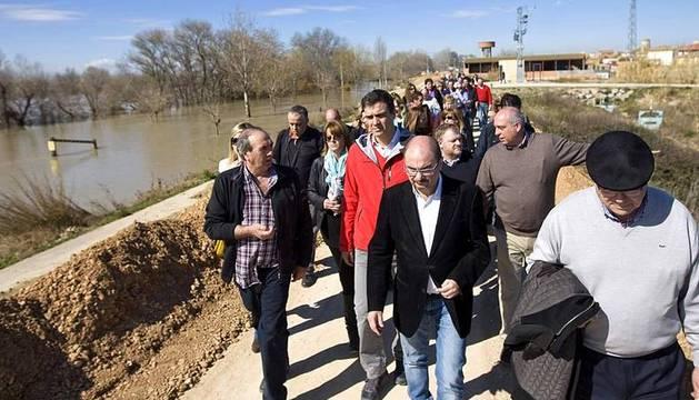 Pedro Sánchez visita las zonas afectadas por las inundaciones