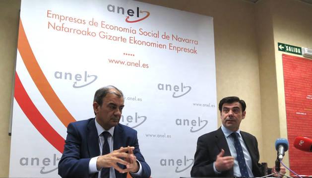 Juan Antonio Pedreño (Coceta) e Ignacio Ugalde (Anel)