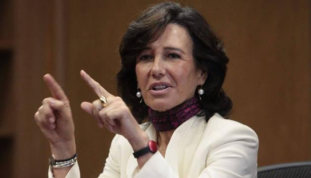 Ana Patricia Botín ocupa la presidencia ejecutiva