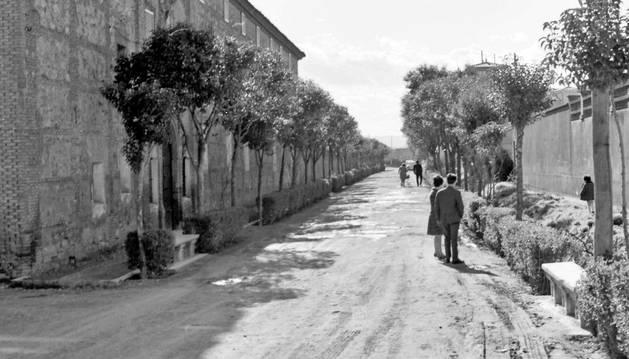 El paseo de Capuchinas en los años 60