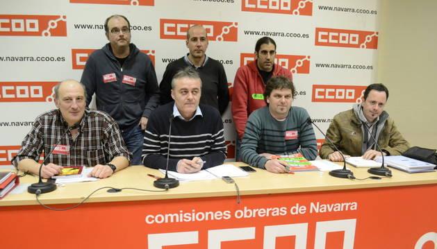 Miembros del comité de empresa de Faurecia.