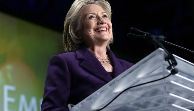 Hillary Clinton, en el acto de EMILY's List.