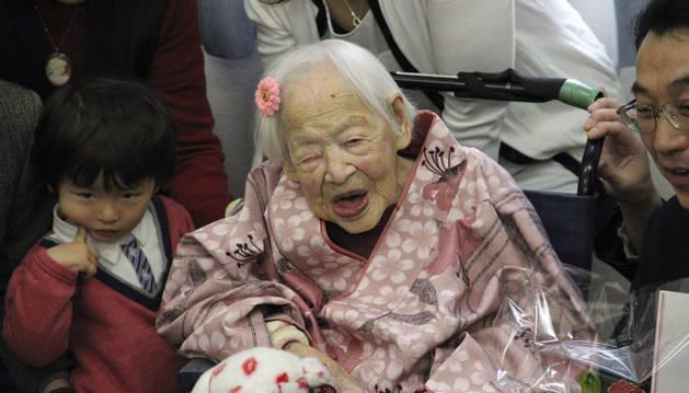 La mujer más anciana del mundo