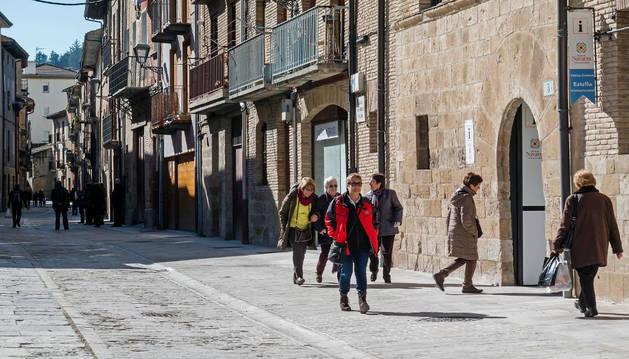 La oficina de turismo de Estella está en la calle San Nicolás