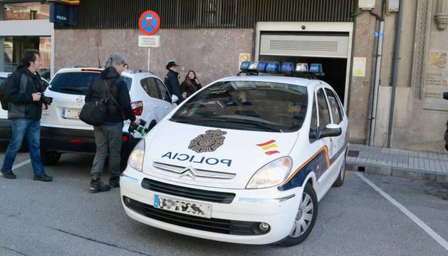 Comisaría de la Policía Nacional en Pamplona