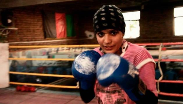 'Boxing for freedom', símbolo de la lucha de la mujer afgana