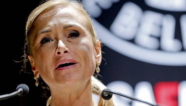 Cristina Cifuentes, candidata popular a la Comunidad de Madrid