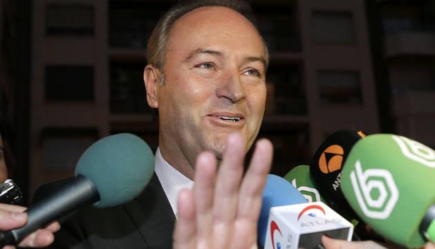 El president de la Generalitat y del PP valenciano, Alberto Fabra.