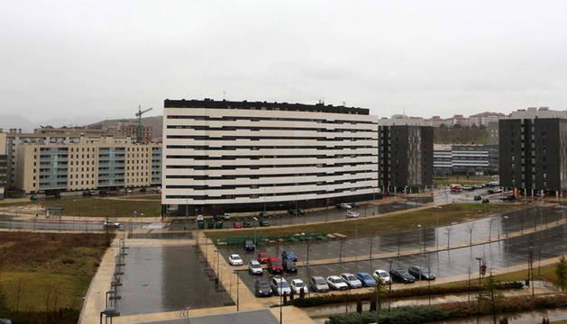 Viviendas nuevas en el desarrollo de Pamplona