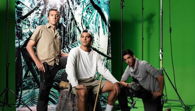 El equipo de 'Frank de la jungla'