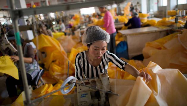 Las exportaciones de China crecen un 48,9% en el mes de febrero