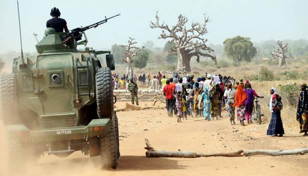 Chad y Níger atacan a Boko Haram en territorio nigeriano