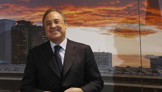 Florentino Pérez amenazó con parar la Liga