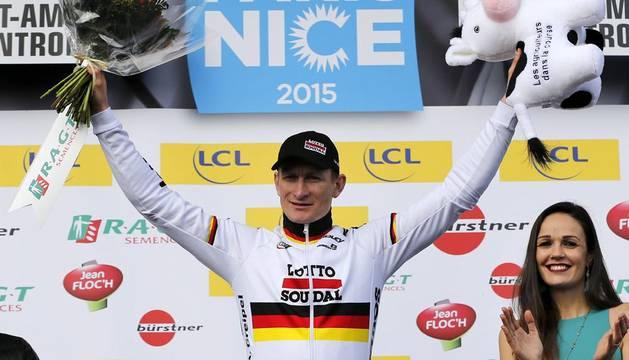 Greipel (Lotto) se lleva la segunda etapa de la París-Niza