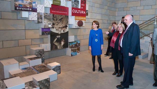 Dos exposiciones marcan el 75 aniversario de Institución Príncipe Viana