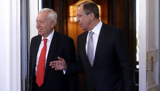 Margallo descarta nuevas sanciones a Rusia si se cumplen los acuerdos