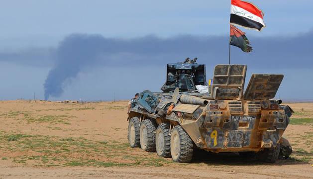 El Ejército iraquí inicia su ofensiva para recuperar el control de Tikrit