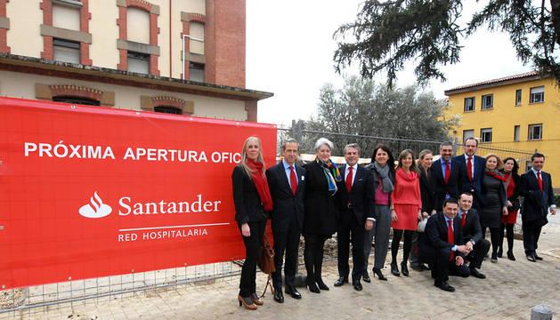 El CHN tendrá a partir de mayo una oficina del Santander