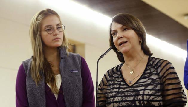 Mitzi Capriles y su hija