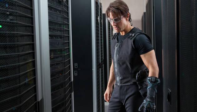 Tom Cruise, en 'Misión Imposible 4'