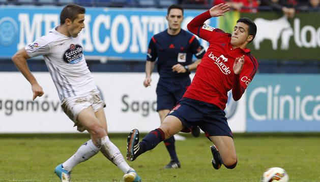 Mikel Merino, contra el Lugo