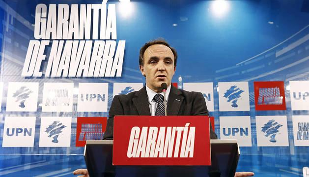UPN abre el plazo de las listas pendientes de Esparza y Barcina
