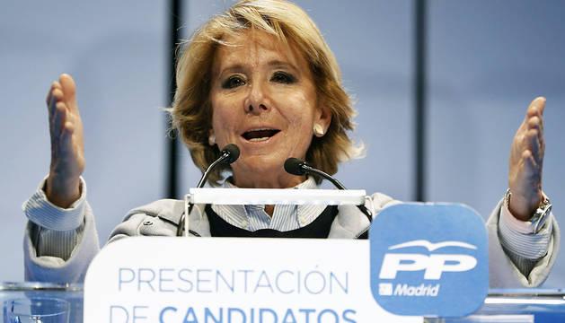Aguirre advierte que Podemos
