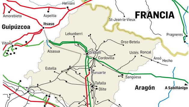 Mapa de las conexiones