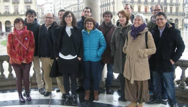 Laura Pérez, con 16 de los candidatos