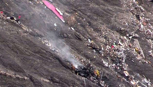 Catástrofe aérea sin supervivientes en los Alpes
