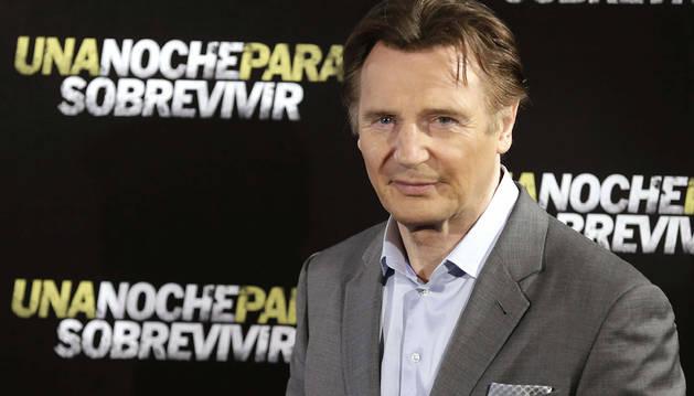 Liam Neeson, en Madrid.