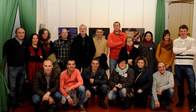Fotógrafos participantes en la muestra