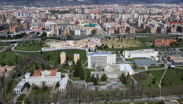 Imagen del campus de la Universidad de Navarra.