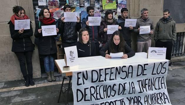 Reivindican integrar tres barrios para luchar por la infancia en Pamplona