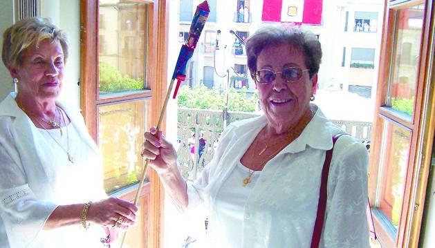 Fallece Vitori Flamarique, una de las reconocidas hermanas joteras de Tafalla