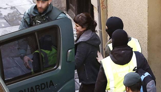 Operación contra la trama de apoyo a los presos de ETA