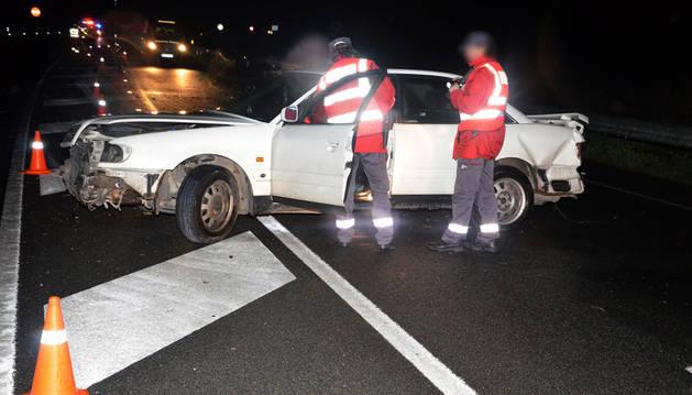 Una mujer de 52 años fallece en un accidente de tráfico en Arguedas