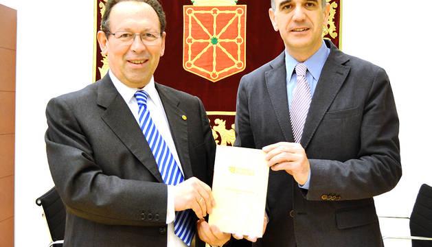 Eugenio Simón y Alberto Catalán.