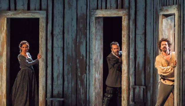 Imagen de la representación de la obra de Rojas Zorrilla 'Donde hay agravios no hay celos'.