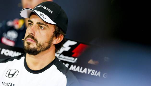 Fernando Alonso, en Malasia