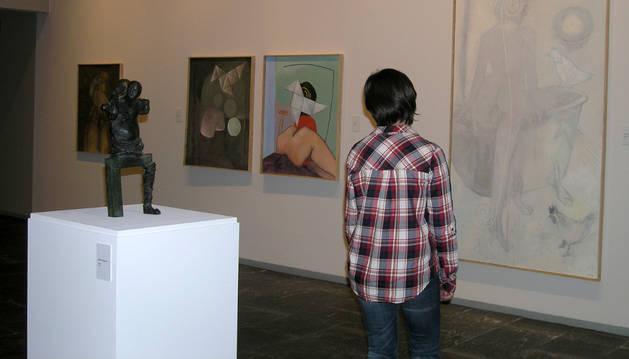 Imagen de la exposición temporal de Rafael Bartolozzi.