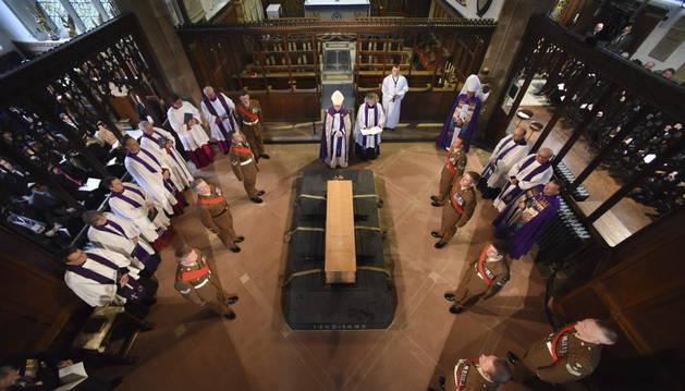 Ricardo III, enterrado 500 años después de su muerte