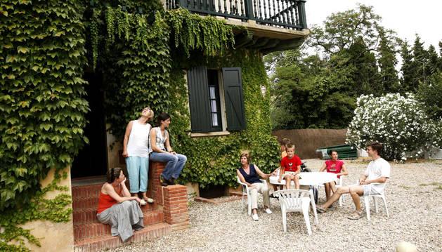 Casa rural en Milagro.