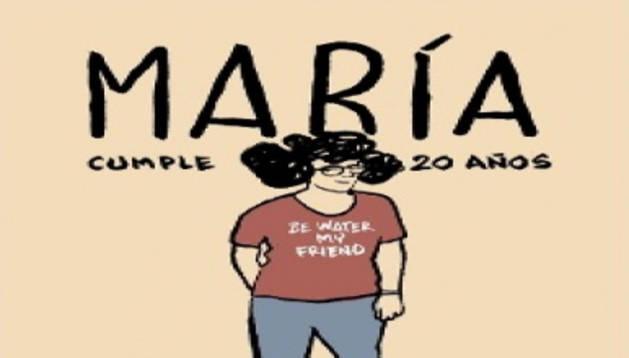 'María cumple 20 años', un comic que habla del autismo
