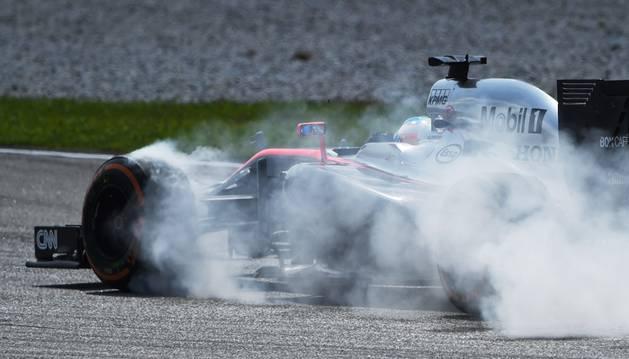 Fernando Alonso, en Malasia.