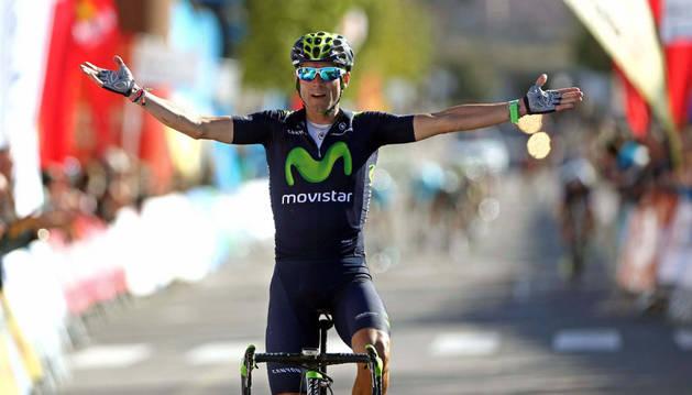 Valverde se hace con el liderato en la Volta